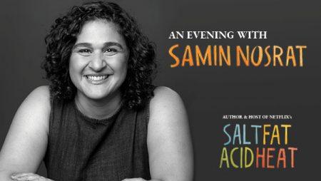 An Evening With Samin Nosrat at Winspear Opera House