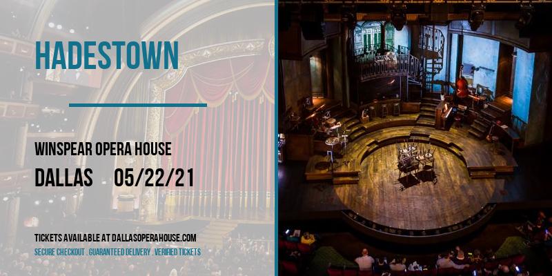 Hadestown at Winspear Opera House
