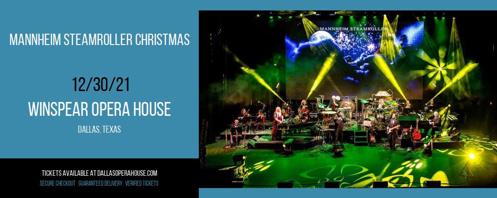 Mannheim Steamroller Christmas at Winspear Opera House