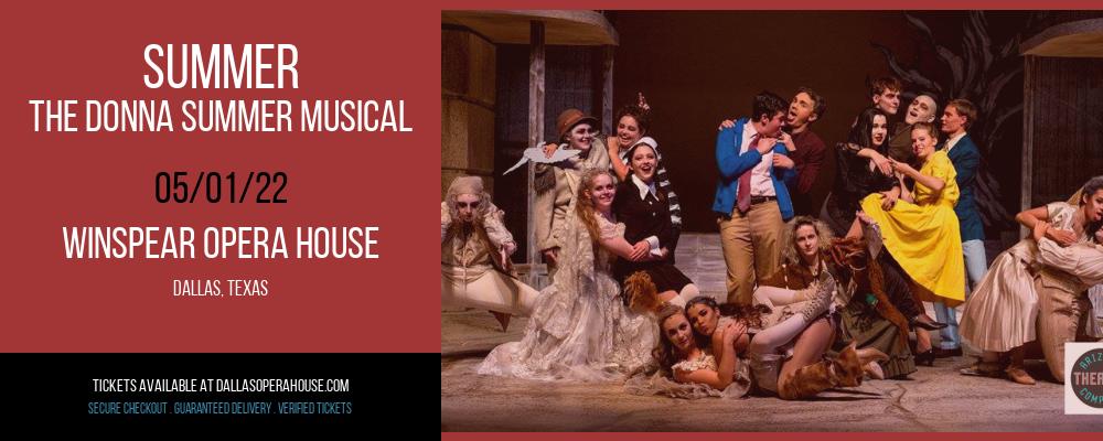 Summer - The Donna Summer Musical at Winspear Opera House