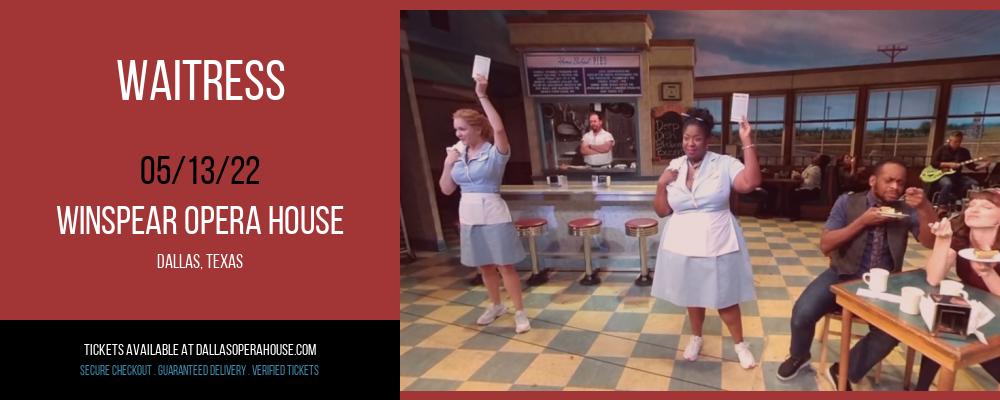 Waitress at Winspear Opera House