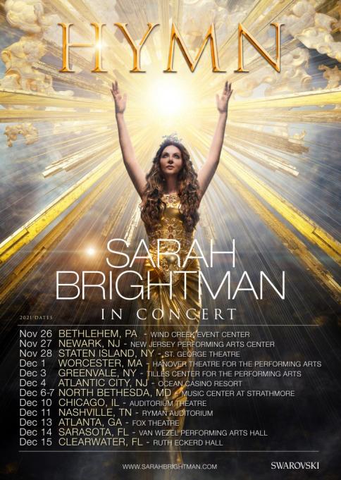 Sarah Brightman at Winspear Opera House